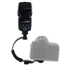 C-Shape Hot Shoe Bracket for Flash LED Video Light DC DSLR Camera DV Camcorder