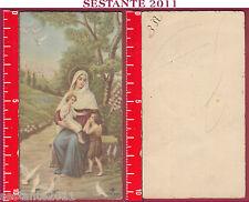 3098 SANTINO HOLY CARD MADONNA MARIA VERGINE CON GESù BAMBINO NB 356