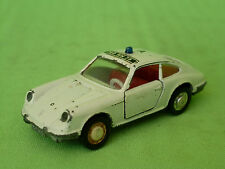 SCHUCO 813 PORSCHE 911S POLICE 1/66 - GOOD CONDITION -