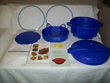 New 4.5 Qt. Prepology BLUE Microwave Pressure Cooker for Microwave use w/Extras