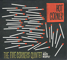 FIVE CORNERS QUINTET hot corner CD digipak STILL SEALED feat MARK MURPHY jazz