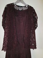 Elena miro Italy verano de diseño vestido disfraz punta Cotton seda 40 42 nuevo