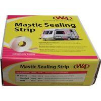 W4 Mastic Sealing Strip 19mm x 5m White - CARAVAN MOTORHOME