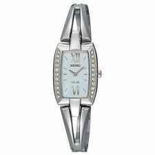 Seiko Women's SUP083 Tressia Swarovski Crystal Solar Watch