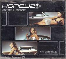 HONEYZ - Won't Take It Lying Down 3 Track & Video CD ROM HNZCD5  (CD 2000) VGC