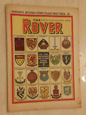 Comic- 1952 THE ROVER, No.1429, DO YOU RECOGNISE ANY OF THESE SCHOOL BADGES?