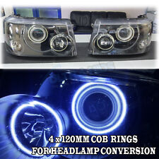 Range Rover Sport Vogue Discovery Headlight Conversion COB DRL Facelift 4X 120MM