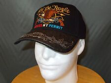 We the People Issued My Permit New 2nd Amendment Gun Rights Ball Cap