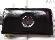 Mimco black Mim Travel large wallet