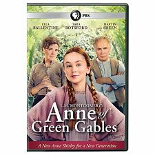 ANNE OF GREEN GABLES (2016 Ella Ballentine) - DVD - Sealed Region 2 compatible