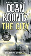 THE CITY BY DEAN KOONTZ (WITH BONUS SHORT TORY, THE NEIGHBOR) PAPERBACK, GC
