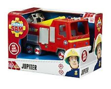 Little Characters - Fireman Sam Vehicle - Jupiter - Brand New