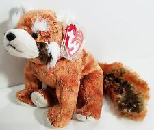 """TY Beanie Babies """"RUSTY"""" Red PANDA Bear - MWMTs! CHECK OUT MY BEANIES & SAVE $$$"""