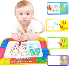 Magic Pen Water Writing Painting Drawing Doodle Aquadoodle Mat Board Toy Gift