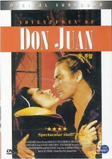 Adventures of Don Juan (1948) DVD - Errol Flynn (New & Sealed)