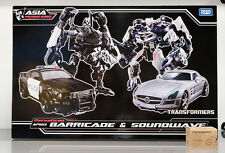 Transformers APS03 APS-03 Human Alliance Barricade Frenzy Soundwave Laserbeak