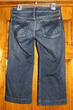 7 For All Mankind Dojo Cropped Jeans, 27