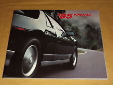 VINTAGE 1985 PONTIAC  GRAND PRIX FIREBIRD GRAND AM SUNBIRD ++ OLD CAR BROCHURE