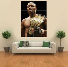 ANDERSON SILVA UFC NEW GIANT LARGE ART PRINT POSTER PICTURE WALL G1149