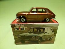 POLISTIL ART  RJ-27  -  RENAULT 16TS  CLUB 33    -  IN  BOX -  IN GOOD CONDITION