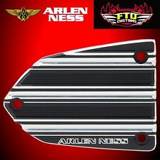 Arlen Ness Master Cylinder Cover 10-Gauge Black Victory V-1365