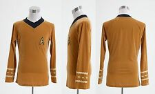 Star Trek TOS Kirk Shirt Uniform Costume Cosplay
