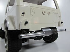 Rear Lower Bumper Bar Guard for Tamiya RC 1/10 CC01 Unimog Bronco Pajero Jeep