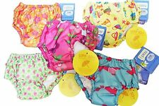 4pk Asst I Play Girl's Bathing Suit Ultimate Swim Diapers 18M 18 M 22-25 lbs