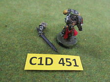 Warhammer 40K metal Black Templar Space Marine Emperors Champion - painted