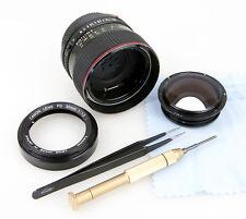 Riparazione Obiettivo CANON FD 1,2/50 mm L verölte MASCHERINA