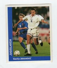 figurina DS CALCIATORI WORLD CUP FRANCE 98 NUMERO 261 JUGOSLAVIA JOKANOVIC