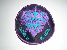 DIAMOND HEAD ROUND EMBROIDERED PATCH