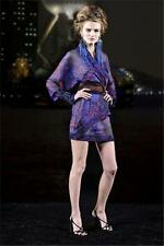 CHANEL Fall 2010 10A Paris Shanghai Silk Wrap Kimono Tunic Dress Blouse 36 $9855