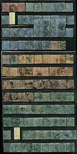 INDIA QV 1865-76 EARLY ISSUES ELEPHANT WMK...100 stamps