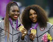 Venus & Serena Williams 2012 USA Tennis Doubles Olympic Gold Medal 8x10 Photo #1