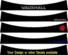 Sunstrip for a Vauxhall Corsa Gen d 2006 - 2014 pre-cut, no trimming required!!!