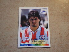 FOOTBALL PANINI STICKER FRANCE 98 WORLD CUP DANONE / R. Acuna Paraguay (272)