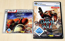 2 pc jeux collection warhammer 40000 Dawn of était & II 2 Game of the year GOTY