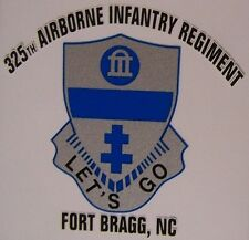 Window Bumper Sticker Military Army 325th Airborne Infantry Regiment NEW Decal