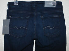 7 For All Mankind KIMMIE Curvy Bootcut w Contour Waist Mon Tete Rouge Wash sz 28
