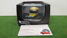 HELMET F1 CASQUE PILOTE formule 1 Ralf SCHUMACHER 2000 au 1/8 d HOT WHEELS 26140