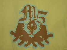 NEW Maroon 5 M5 T Shirt Top Yellow M / OS
