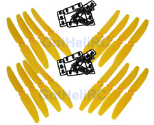 GemFan 5030 5x3 YELLOW MultiRotor propeller CW CCW Mini 250mm Quadcopter (16PCS)