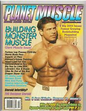 PLANET MUSCLE bodybuilding fitness magazine/Roland Kickinger 2-04