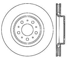 Power Slot Slotted Brake Rotor fits 1998-2004 Volvo C70 V70  POWER SLOT