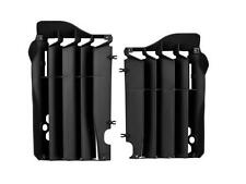 POLISPORT RADIATOR LOUVERS CRF 450 RAD GUARDS HONDA 2013 Black MX MOTOCROSS