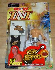 2000 WCW NWO Toy Biz Jeff Jarrett TNT Wrestling figure MOC WWE GFW Tattoo