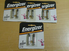(8) Energizer AAAA 1.5V Batteries NEW/EXPIRED