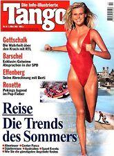 """Kult-Info-Illustrierte """"TANGO"""" Nr 10 v 1995; Bill Clinton; OJ Simpson; Barschel"""
