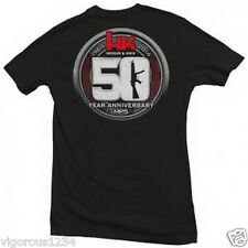 HECKLER &  KOCH MP5 50th ANNIVERSARY TSHIRT Size Medium HK416 MP5 HK45 P30 USP